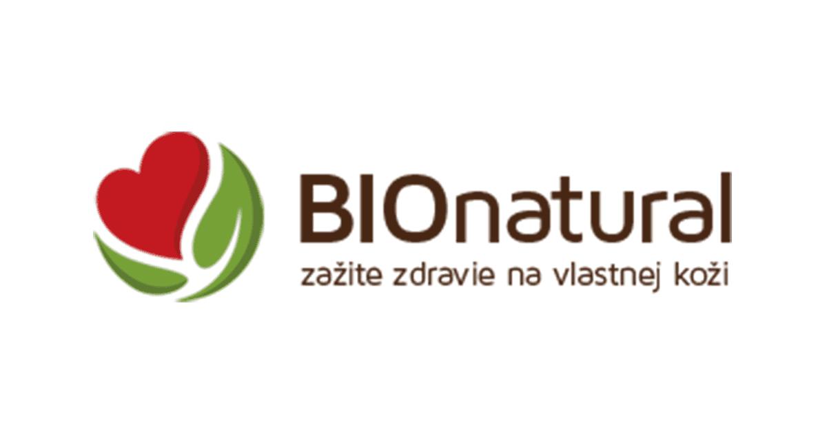 BioNatural.sk zlavove kody, kupony, zlavy, akcie